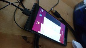 Mir voltou a funcionar em smartphones, graças aos UBports