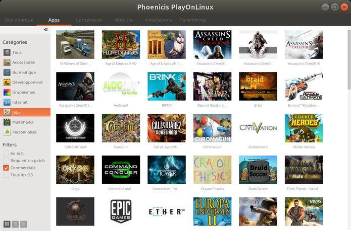 PlayOnLinux 5.0 Alpha lançado com interface de usuário redesenhada