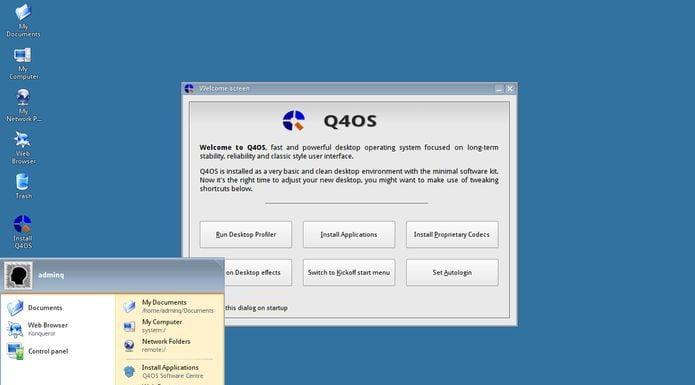 Q4OS 3.4 Testing lançado com novo instalador e Trinity 14.0.6