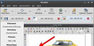 Shutter 0.94.2 lançado com algumas correções de bugs
