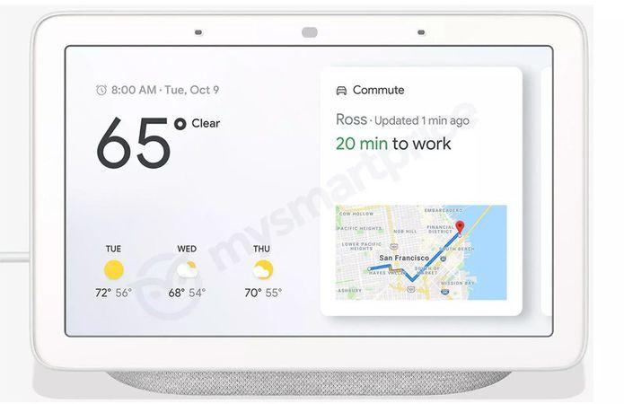 Confira as imagens e informações do Smart Display Google Home Hub