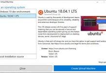 Canonical lançou uma imagem do Ubuntu 18.04.1 para Microsoft Hyper-V