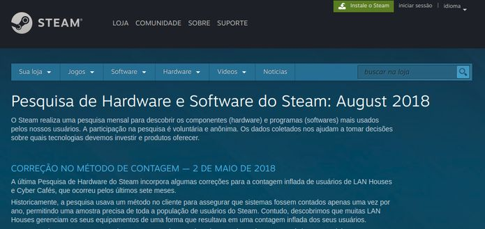 Steam Survey revelou que uso do Steam Linux chegou a 0.59% em agosto