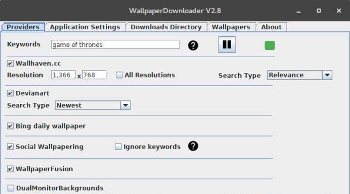 Como instalar o WallpaperDownloader no Linux via Snap