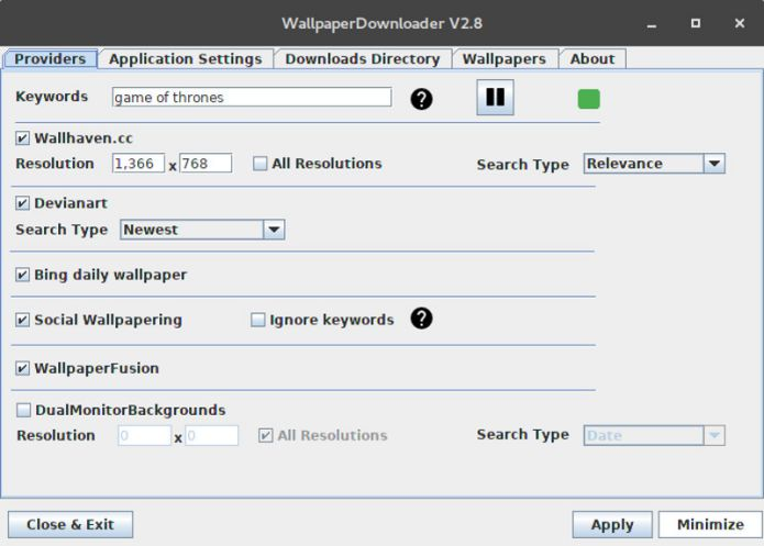 Como instalar o WallpaperDownloader no Linux via Snap