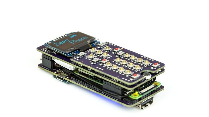ZeroPhone: um smartphone com Raspberry Pi Zero por 50 dólares