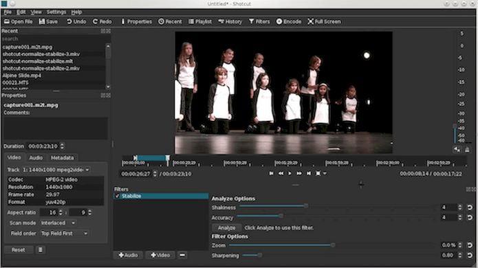 Como instalar o editor de vídeos Shotcut no Linux via AppImage