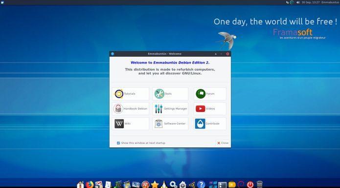 Emmabuntus Debian Edition 2 1.03 lançado - Confira as novidades e baixe