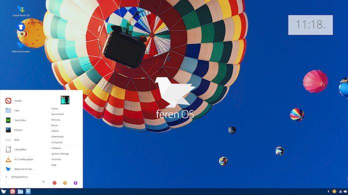 Feren OS 2018.10 lançado - Confira as novidades e baixe