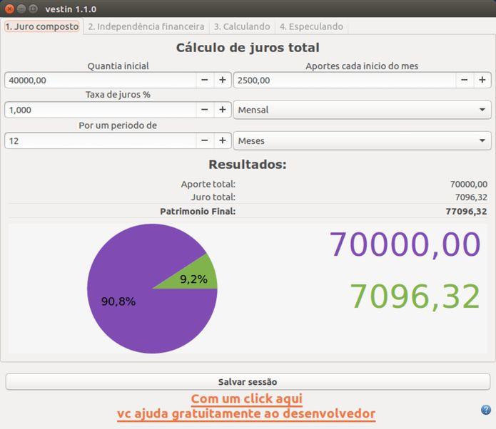 Como instalar a ferramenta de cálculo Vestin no Linux via Snap