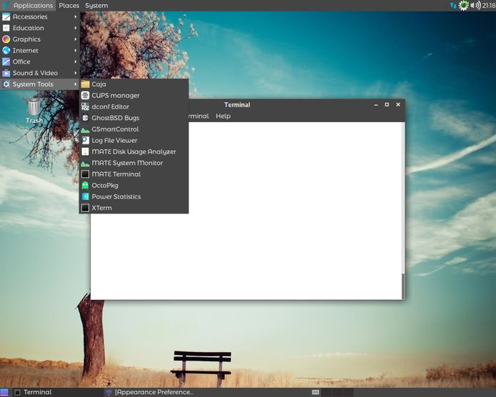 GhostBSD 18.10 RC1 lançado - Confira as novidades e baixe