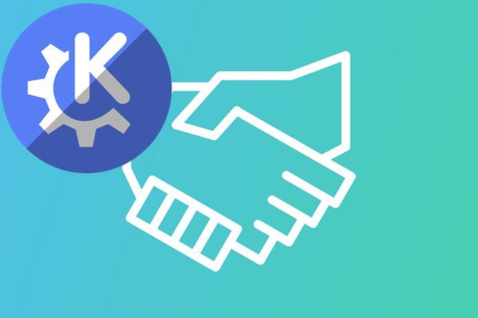 Handshake fez uma doação de U$$ 300.000 para a KDE e.V.