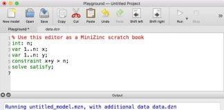 Como instalar a linguagem e a IDE MiniZinc no Linux via Snap