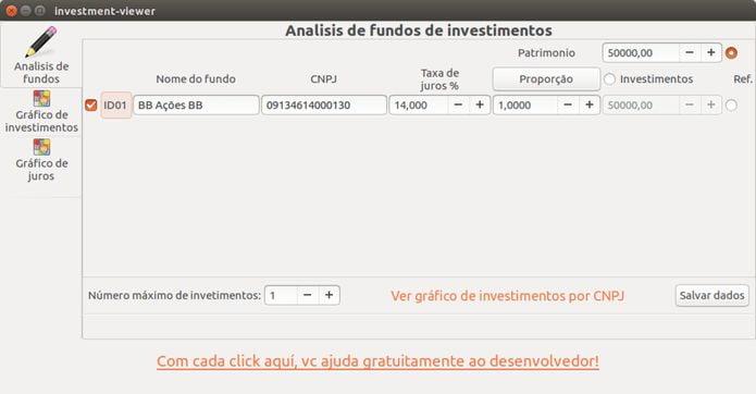 Como instalar o Investment-Viewer no Linux via Snap