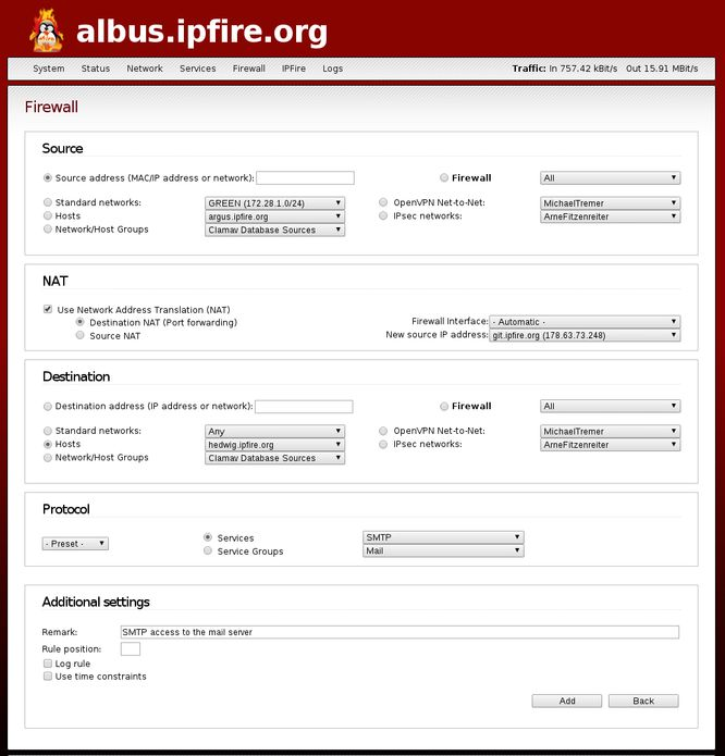 IPFire 2.21 Core 124 lançado - Confira as novidade e baixe