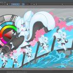 Krita 4.1.5 Lançado com suporte melhorado para telas HiDPI/Retina