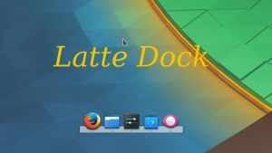 Latte Dock será multicolor no KDE Plasma 5.15! Confira!