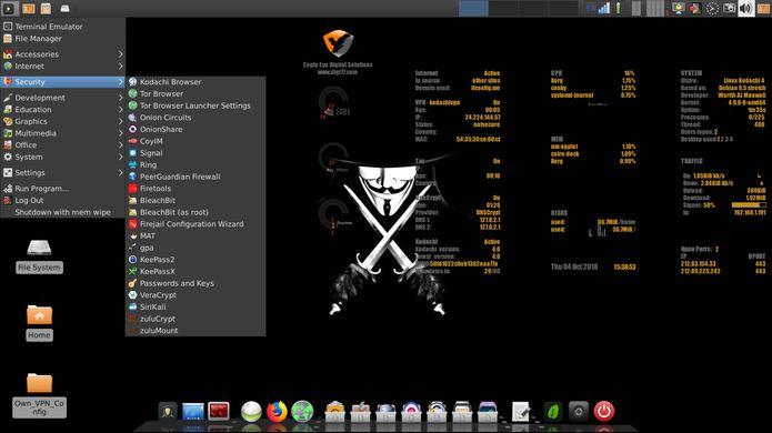 Linux Kodachi 4.0 lançado - Confira as novidades e baixe