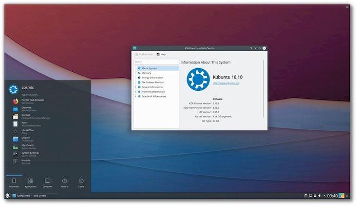 Confira as novidades do Kubuntu 18.10 e veja onde baixar