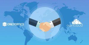 ownCloud e ONLYOFFICE anunciam um acordo de colaboração
