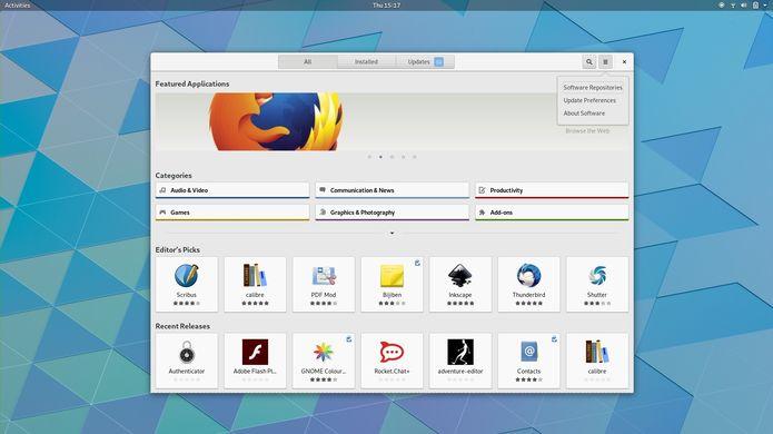 Projeto GNOME removerá os menus de aplicativos no GNOME 3.32