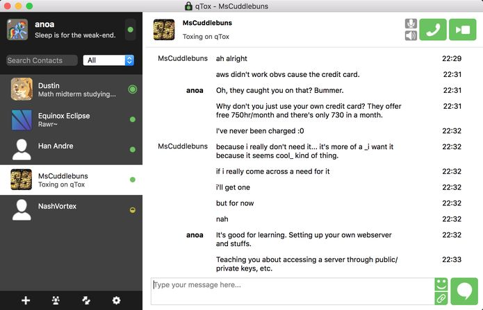 Como instalar o mensageiro seguro qTox no Linux via AppImage