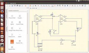 Como instalar o simulador de circuitos QUCS no Linux via Snap