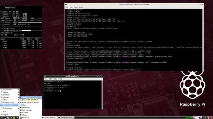 RaspEX LXDE - Um Ubuntu 18.10 com LXDE para Raspberry Pi 3!