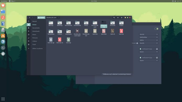 Combinando o tema Nordic e os ícones Zafiro no Ubuntu e derivados