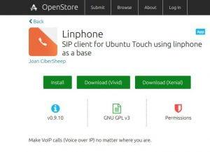 Ubuntu Phone agora tem um aplicativo de VoIP: o Linphone
