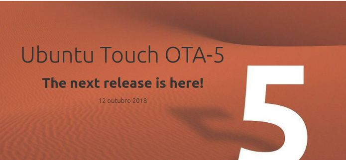 Ubuntu Touch OTA-5 lançado com um novo navegador Morph