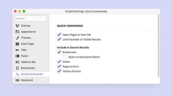 Vivaldi 2.1 lançado com melhorias nos Quick Commands e mais