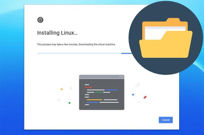 Apps do Linux em breve terão acesso às pastas do Android no Chrome OS