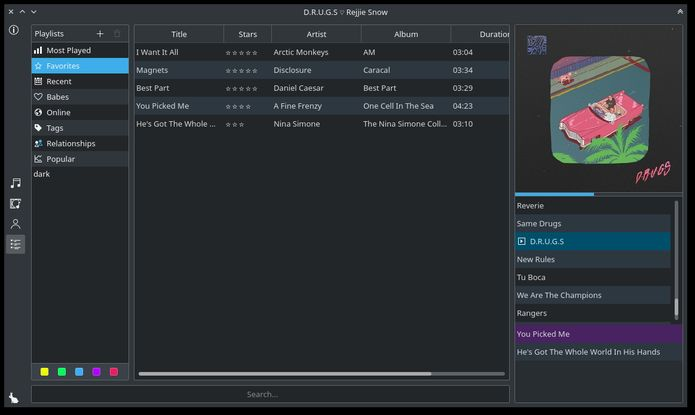 Como instalar o Babe Music Player no Linux via appimage
