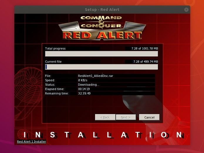 Como instalar Command & Conquer: Red Alert no Linux via Snap