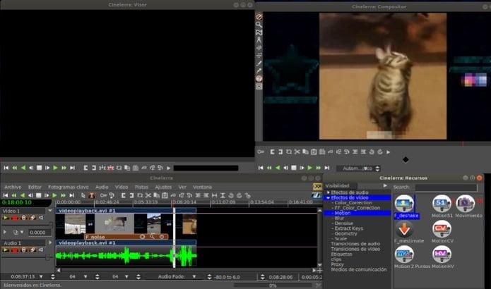 Como instalar o editor de vídeos Cinelerra no Ubuntu e derivados