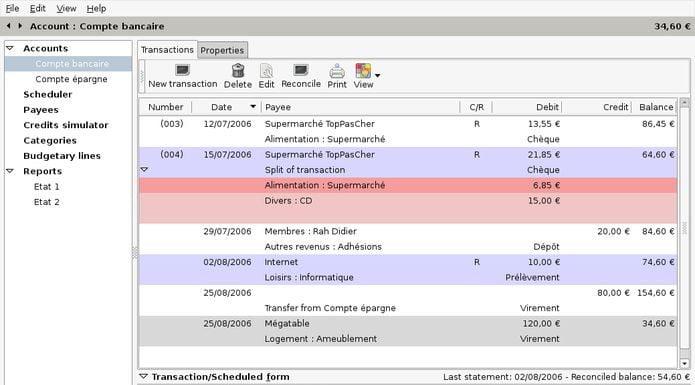 Como instalar o gerenciador financeiro Grisbi no Ubuntu, Debian e derivados
