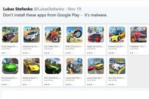 Google removeu 13 aplicativos maliciosos da Play Store disfarçados de jogos