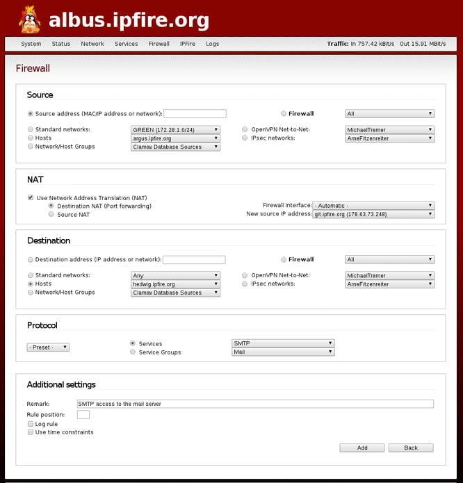 IPFire 2.21 Core Update 125 lançado com Suporte a Wi-Fi 802.11ac