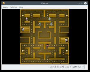 Como instalar o clone de Pacman Kapman no Linux