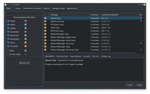 KDE Plasma 5.15 tornará mais fácil aplicar atualizações