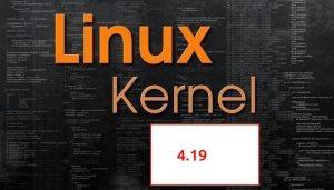 Como atualizar para o kernel 4.19.1 no Linux Ubuntu, Fedora, openSUSE e derivados
