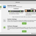 Linux Mint 19.1 terá um layout de desktop moderno