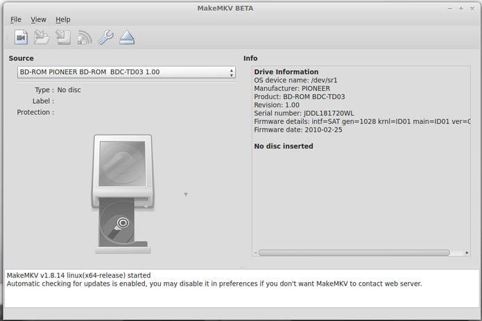 Como instalar o conversor MakeMKV no Linux via Flatpak