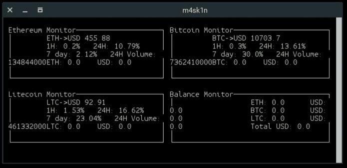 Como instalar o monitor de moedas Cryptowatch no Linux via Snap