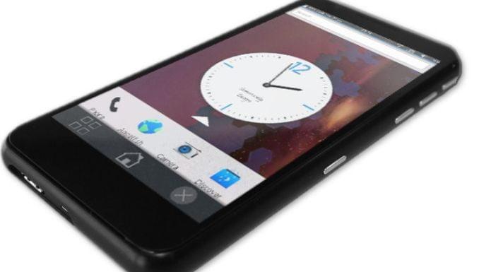 Necuno Mobile, um smartphone com Plasma Mobile