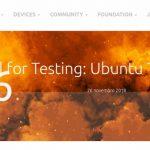 Ubuntu Touch OTA-6 virá com melhorias no navegador e mais