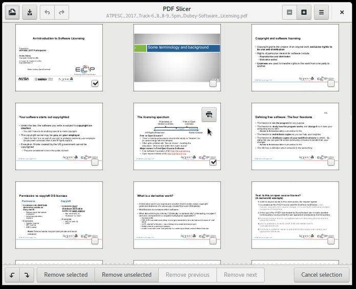 Como instalar o utilitário PDF Slicer no Linux via Flatpak