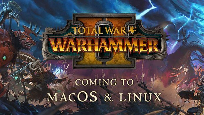 Requisitos de sistema do jogo Total War: WARHAMMER II para Linux e Mac