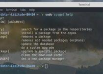 Sysget – Conheça e instale este Frontend de gerenciamento de pacotes